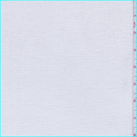 White Ribbed T-Shirt Knit
