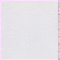 White Micro Rib T-Shirt Knit