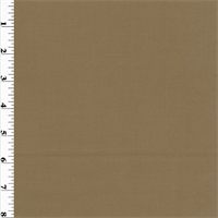 *1 1/2 YD PC--Brown Ochre Wool Twill Suiting