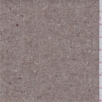 Taupe Wool Tweed Suiting