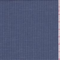 Wedgewood Blue Pinstripe Suiting