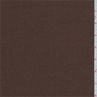 Tobacco Brown Wool Gabardine Suiting