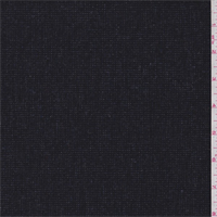 Black/Charcoal Micro Check Tweed Wool Suiting