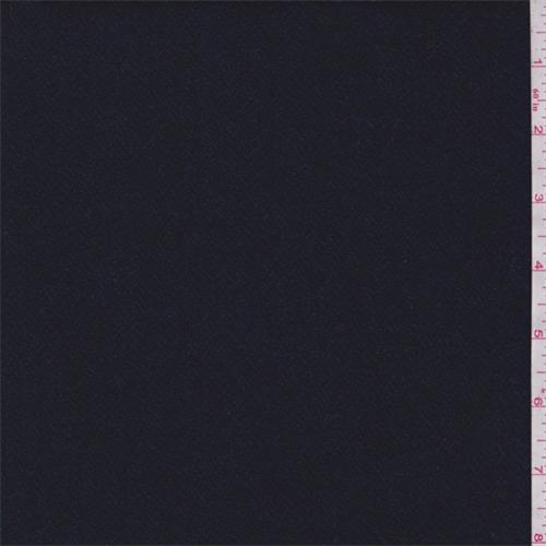 Black Navy Mini Chevron Wool Jacketing 65333 Fashion