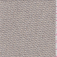 Beige/Sage Basketweave Wool Jacketing