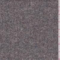 Dusty Grey Tweed Wool Blend Suiting