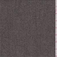 Mocha/Tan Twill Wool Blend Suiting