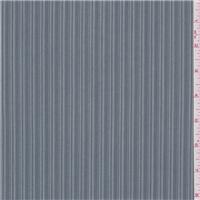 *2 3/4 YD PC--Steel Blue Stripe Suiting