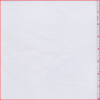 *1 7/8 YD PC--White Tencel T-Shirt Knit