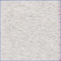 Ivory/Gold Heather Jersey Knit