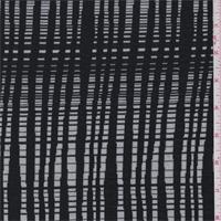 White/Black Textured Knit
