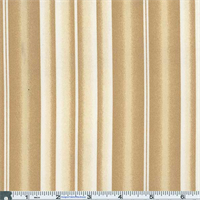 *3 3/4 YD PC--Sandy Tan Awning Stripe Indoor/Outdoor Fabric