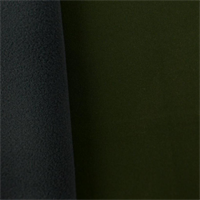 Soft Shell Fleece - Army Green/Black