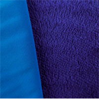 Soft Shell Berber Fleece - Aqua Blue/Berry Blue