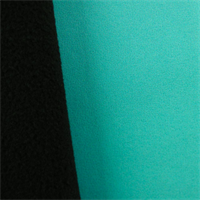 Soft Shell Fleece - Aqua Teal/Black