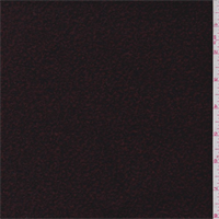 *1 1/2 YD PC--Burgundy/Black Boucle Coating
