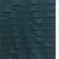 *3 YD PC--Teal Blue Ruffle Knit