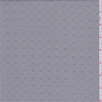 *3 3/8 YD PC--Stone Grey Stripe Eyelet Shirting
