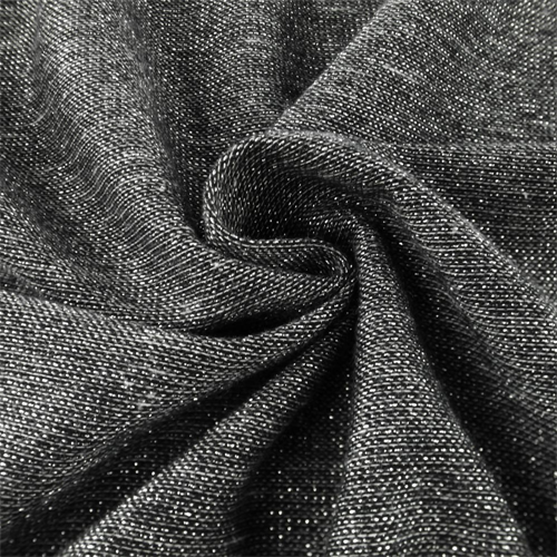 088b6826bd8 Dark Gray Sparkle Knit Jersey - 60412   Fashion Fabrics