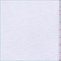 White Slub Jersey Knit