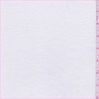 White Mini Rib Jersey Knit