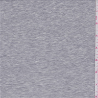 Steel Heather Grey Jersey Knit