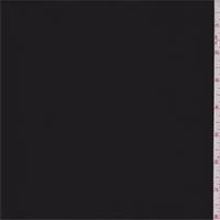 Coal Black Nylon Jersey Knit