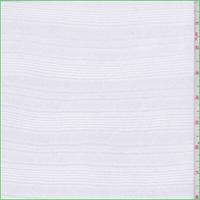 Pearl White Stripe Tissue Knit