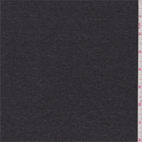 Charcoal Grey Rib Knit