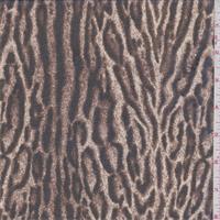 Camel/Beige Animal Print Silk Chiffon