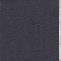 Dark Taupe Grey Poly Rayon Jersey Knit