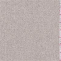 *1 YD PC--Heather Oatmeal Wool Coating
