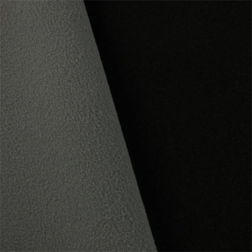cd07dc0d4d9 Black/Gray Waterproof Knit Soft Shell Fleece - DFW10597 Discount Fabrics