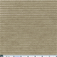 *3 YD PC--Barley Beige Kahuna Stripe Chenille Home Decorating Fabric