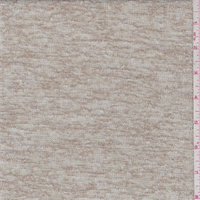 *1 1/8 YD PC--Sand/Ivory Fine Sweater Knit