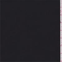 *3 1/2 YD PC--Black Stretch Poplin