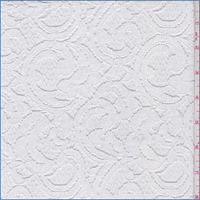 White Scroll Lace