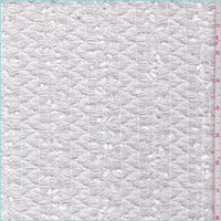 White Zig Zag Crochet Lace