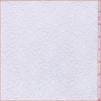 White Fine Floral Lace