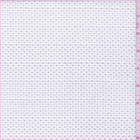 White MIniature Lattice Eyelet