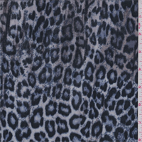 Beige/Black/Blue Cheetah Stretch Slinky