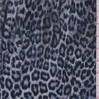 Beige/Black/Blue Cheetah Stretch Slinky