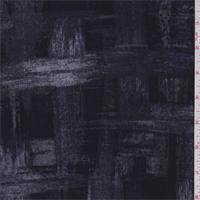 Purple/Black/Grey Plaid Stretch Slinky