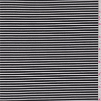 Black/White Pinstripe Stretch Slinky