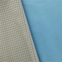 Baby Blue/Sky Gray Double Sided Grid Fleece