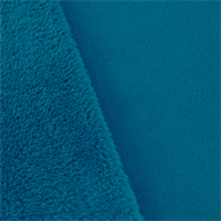 Aegean Blue Double Sided Shag Fleece
