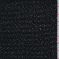 *2 3/4 YD PC--Black Patent Metallic Snakeskin Suiting