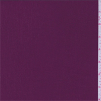 Dark Berry Red Crinkled Rayon Gauze