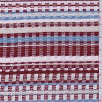 Red/Blue/Pink Stripe Sweater Knit