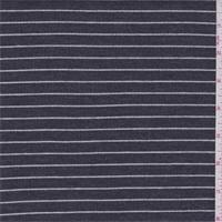 Slate/White Stripe Layered Knit